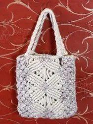 Soft And Stylish Macrame Design Bag