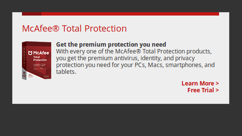 Mcafee Free Trial