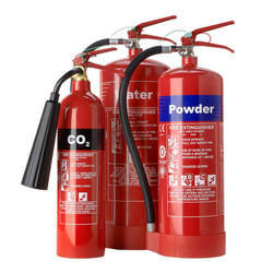 A B C Dry Powder Type Mild Steel Cylindrical Fire Extinguisher, Capacity: 5-20 kg
