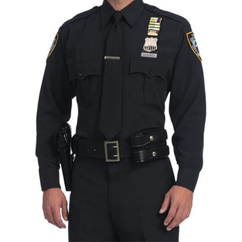 f191296d Men Black Security Full Uniform, Rs 800 /piece, Ram Babu & Bros | ID ...