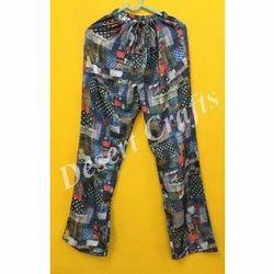Multicolor Printed Ladies Beach Pajama
