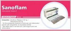 Sanoflam-Tab Diclofenac Potassium And Paracetamol 325 mg