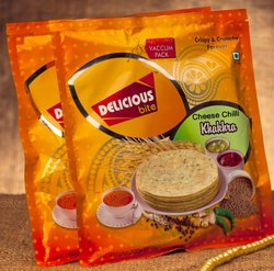 Rajkot Round Cheese Chilli Khakhra, Packaging Type: Packet, Packaging Size: 200 Gm