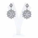 Diamond Moonstone Designer Earrings