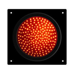 Amber LED Traffic Light