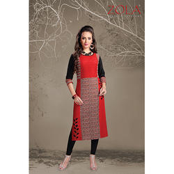 3/4 Sleeves Women Kurti