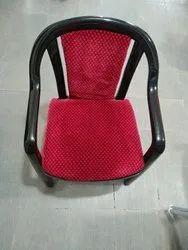 Supreme Ornate Black Red Chair