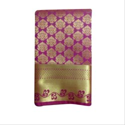 Party Wear Elampillai Silk Saree, Length: 6.3 m (With Blouse Piece)