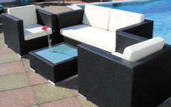 Modern Patio Sectional Sofa Couch Set