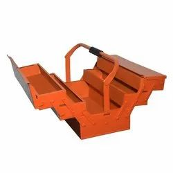 Metal Tool Box 5 Compartment, Size/Dimension: 8x18