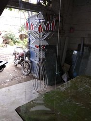 V Guru Glass for Decoration