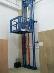 Mild Steel Hydraulic Goods Lift Kit, Capacity: 4-5 Ton