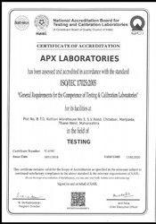 Processed food testing