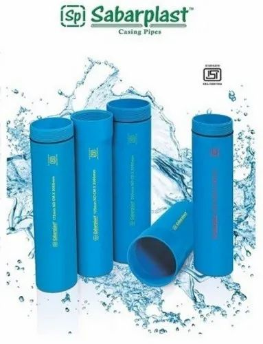 Blue Sabar Plast PVC Casing Pipes, Length: 3m