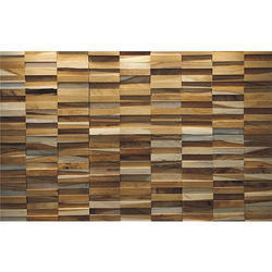 Brick Wood Wall Panel