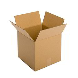 Brown Packaging Corrugated 3 Ply Box 4x4x4 inch