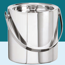 Silver Stainless Steel Bucket, 1 To 10 Litre
