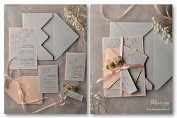 Single Fold Insert Royal Designer Marriage Cards 6