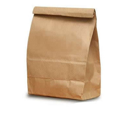 Brown Paper Food Bag