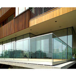 Panel Balcony Glass Rails