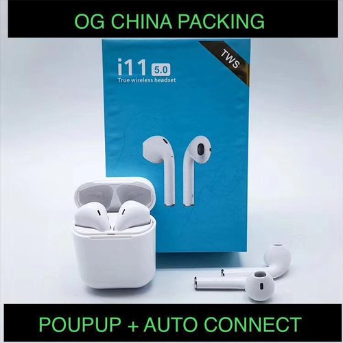 i11 twns Bluetooth Headset Auto connect & i7S TWS Earbuds