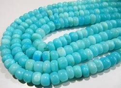 Opal Smooth Beads