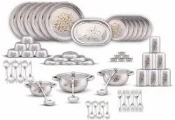 61 Pcs Dinner Set (Flower Print)