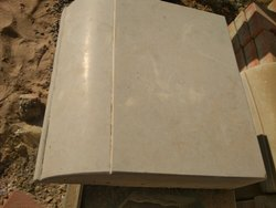 Carving Cement Block