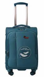 F Gear Aspire Polyester 54 cms Ocean Blue Softsided Cabin Luggage (2755)