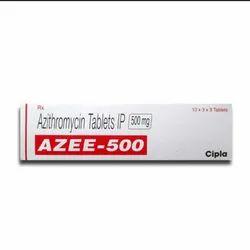 Cipla Tablet Azee 500 mg (Azithromycin), For Allergy