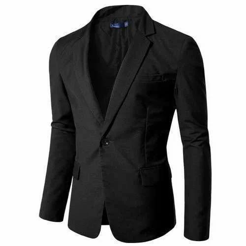 bab0b2cda3d7 XL Black Men's Blazer, Rs 1000 /piece, Amol Uniforms | ID: 15367447391