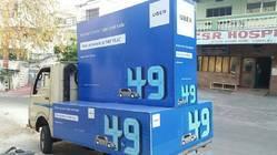 Mobile Van Branding - Canter