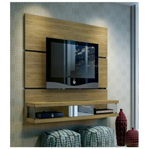 Lcd Tv Wooden Wall Panel