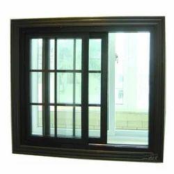Aluminum Double Glass Sliding Window