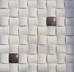 Natural Stone Metal Mosaic