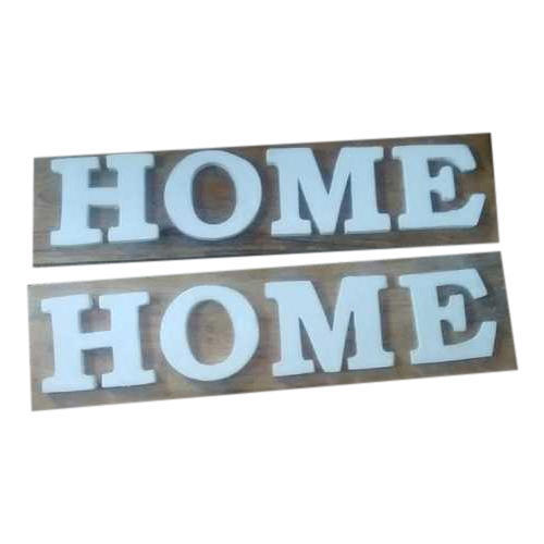 Wooden Name Plate At Rs 140 Piece Home Decorative Items Paras