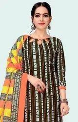 KP Priyanka Patiyala Printed Cotton Dress Material Catalog Collection