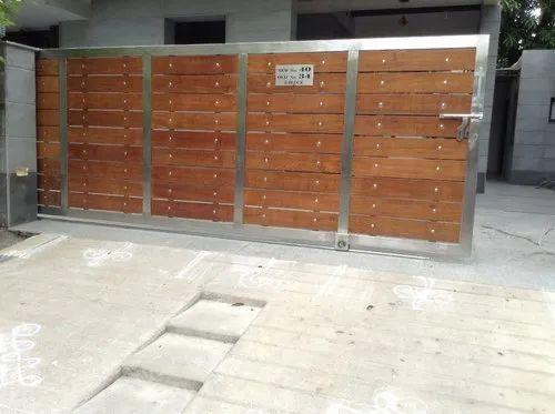 Wooden Sliding Gates Sliding Gates Arumbakkam Chennai Indian