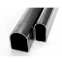 D Shaped Steel Pipes