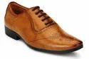 Biznet Tan Men Designer Lace Up Shoes
