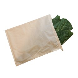GOTS Certified Organic Cotton Muslin Pre Shrunked Produce Bags