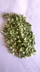 Freeze Dried Green Capsicum Or Green Bell Pepper