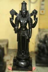 Divine Balaji 5 Feet In Special Black Stone