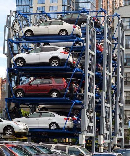 Automatic Car Parking System Puzzle Car Parking System