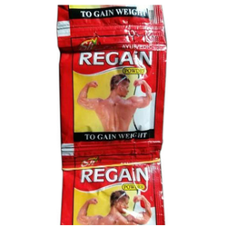 Boost Energy Regain Weight Herbal Powder, Packaging Type: Pouch