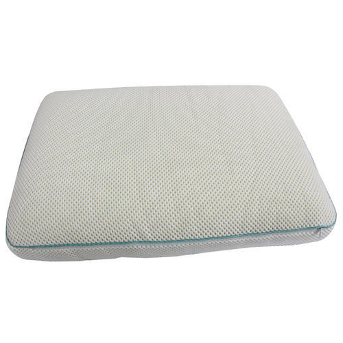 single pillow of cool dual foam gel or abripedic contour set memory comfort