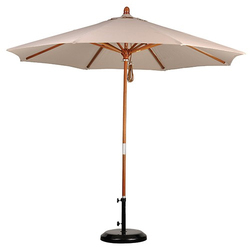 Wooden Patio Umbrella