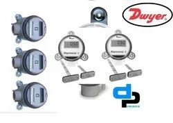 Dwyer MS 331 LCD Magnesense Differential Pressure Transmitter