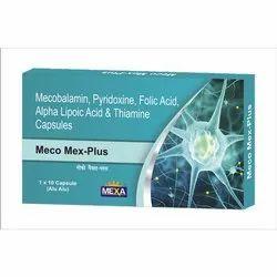Mexa Meco Mex Plus Capsule, Prispag pharma, Prescription