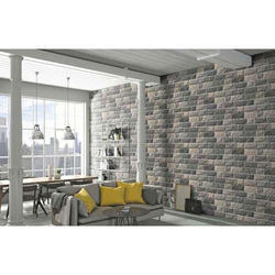Porcelain Mosaic Elevation Wall Tile, Thickness: 5-10 mm, Size: 12 inch * 15 inch